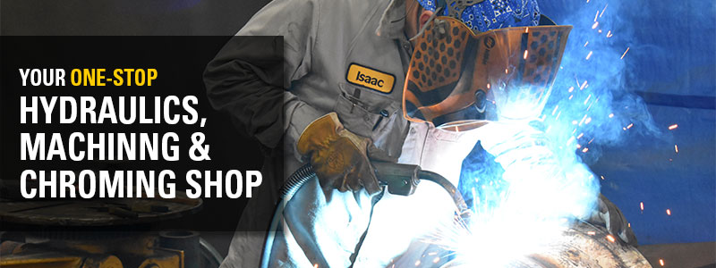 Your One Stop Shop for Hydraulic, Machining & Chroming Services