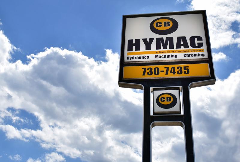 CB HYMAC Camp Hill Sign